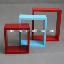 top sale hanging cube wood art craft