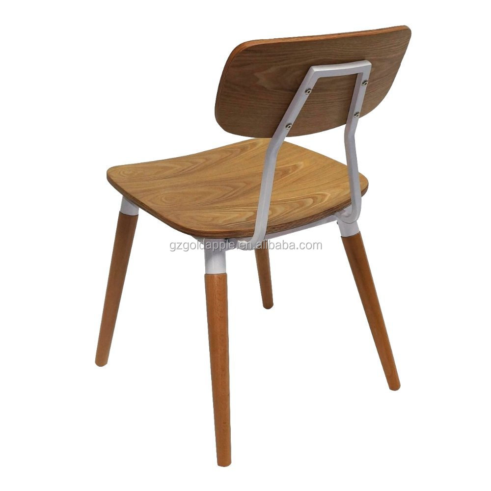 Factory price restaurant furniture metal bentwood chair