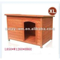 UW-WH-002-XL Luxury wooden pet house for dogs, made of China fir,suitable for large dogs