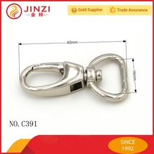 Jinzi metal snap hook/ bag buckle for handbag leather bag