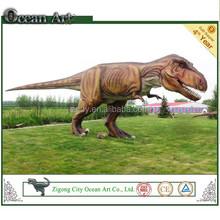 Amusement animatronic robot dinosaur equipment