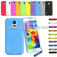 Luxury Design Clear Phone for samsung galaxy s5 i9600 hybrid tpu case In stock
