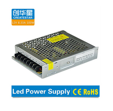 High efficiency energy driver 12v 100w led switch power supply
