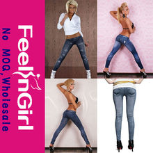 Cheap Mix Style Girls in Stock Sexy Jeans Leggings