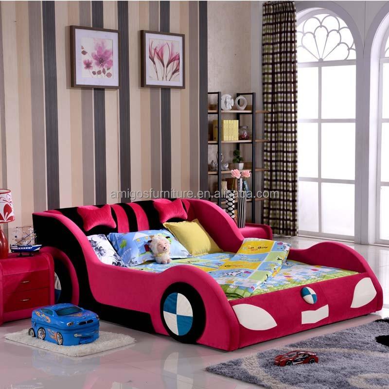 Lovely Kid BedChildren Car BedPrincess Car Bed