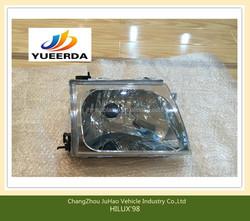 Factory manufacturing HILUX'98 CAR PARTS ACCESSORIES /car head lamp FOR HILUX OEM:L81170-35350 R81130-35370