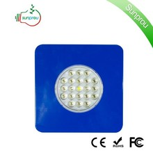 Factory OEM Provided Blue Mars Ii Led Grow Light 63w(80x5watt) Sunny 63W 21*3w From SUNPROU