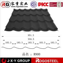 0.12mm lowes black galvanized sheet corrugated metal roofing sheet