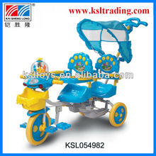 accordion kids twin tricycle for sell