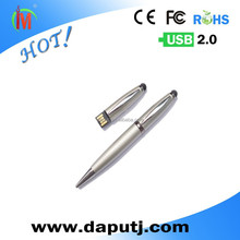 high quality metal flash pen drive as office presents