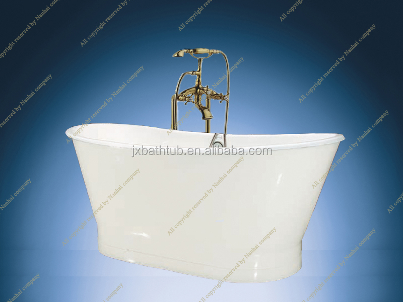 Skirted Cast Iron Bath Tub Extra Large Bathtubs Deep Bathtub ...