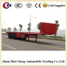 Extendable container chassis semi trailer parts for sale