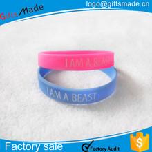 custom made Silicone/Rubber Basketball /Football Running Wristband,Baseball rubber Bracelets