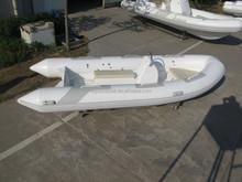 Folded rigid inflatable boat sightseeing rib boat