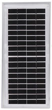 5W 12V Monocrystalline Small Size Solar Panel for Toys with TUV CE RoHS Certificate