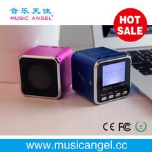 ultra mini speaker home audio video & accessories Music Angel micro SD/TF card speaker