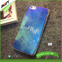 New arrival optical maser blue light TPU mobile phone case for iphone 6 6s