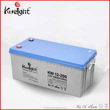 Kweight Best seller agm Solar battery 12v 200 ah
