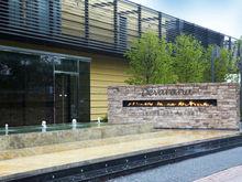 outdoor intelligent ethanol modern fireplace