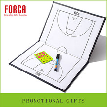 High quality two fold Basketball tactics board leather tactic board