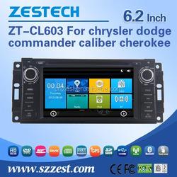 For chrysler dodge commander caliber cherokee car parts support Am / Fm radios audio multimidea player BT Phone book
