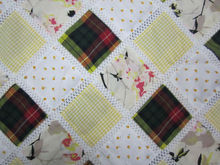 army tent patchwork fabric
