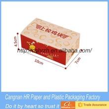 Custom size food grade fried chicken box