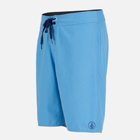 Light weight plain dyed microfiber ployester board shorts with back pocket