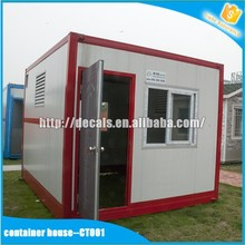 safe and durable prefab house container kiosk