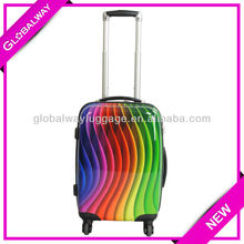 Colorful Printed PC Luggage