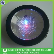 Custom Plastic Bottle Pad Flashing Coaster For Party,Flashing Cup Pad For Event,Light Up Coaster For Bar,