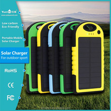 Real High Capacity and Wonderful Portable Solar Charger T011 5000mAh for Phablet with High Quality and Nice Price