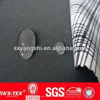 Twill spandex fabric bonded printed TPU fabric
