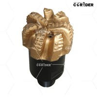 high speed drill power tools diamond PDC drill bits, hard rocks formations PDC bits for oil drilling