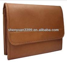 New arrival casual designer style mens menssenger bag leather mens briefcase