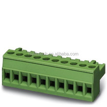 PHOENIX paralle to the pcb mini female plug-in terminal block 5.0mm pitch