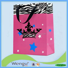 Newest beautifu and unique feel luxury gift hand paper bag supplier and manufacture