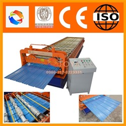 Environmentally copper colored metal roof