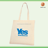 high quality customized eco natural recycled cotton canvas tote bags