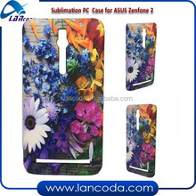 global promotion 3D sublimation cover mobile phone case for Asus ZenFone 2,glossy and matte surface