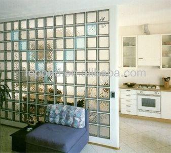 verre brique bloc pour la partition verre brique pour salle de bains. Black Bedroom Furniture Sets. Home Design Ideas