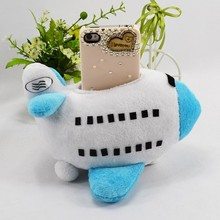 Factory Price Airplane Shape Phone Case Plush Toy Case For Iphone