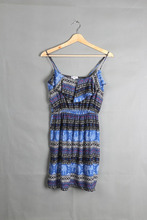 WH21 2015 Europe new women fashion dress chest strap lotus leaf dress