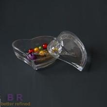 Heart Shaped Wholesale Glass Trinket Boxes