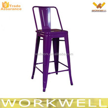 WorkWell industrial metal bar stool high chair Kw-St15