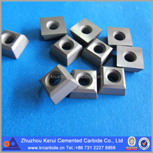 12.7x12.7x6.0 widia insert carbide square insert for chain saw cutting in quarrying marble, limestone