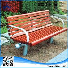 2015 Hot sale durable Garden wooden long bench chair