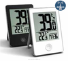 2015 ESUN Newest IPAD Mini style RF weather station alarm clock with indoor outdoor transmitter/RF Weather station