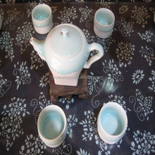 Hot sales grace tea pot set with Chinese culture for home use