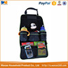 600D polyester car organizer backseat , car seat organizer pockets